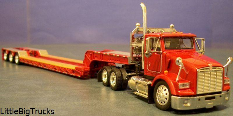 Tonkin !/53 scale Seminole Red Kenworth w Lowboy trailer